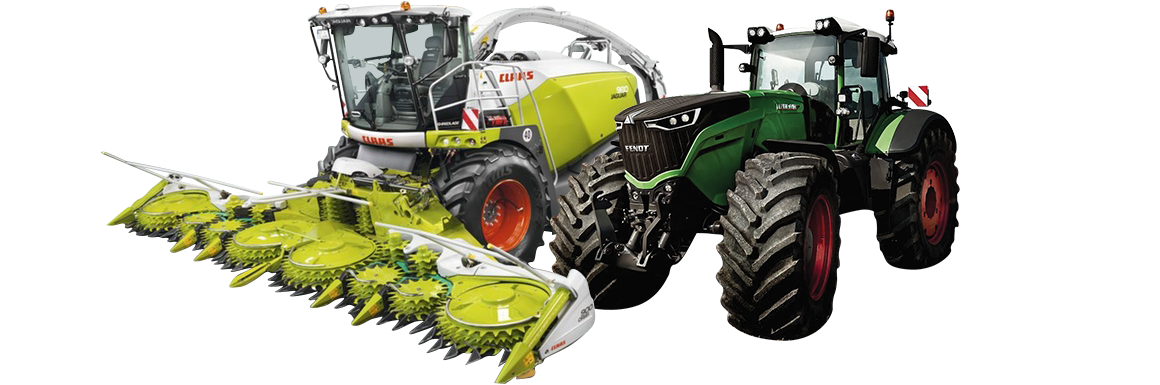 Fendt and Claas Equipment